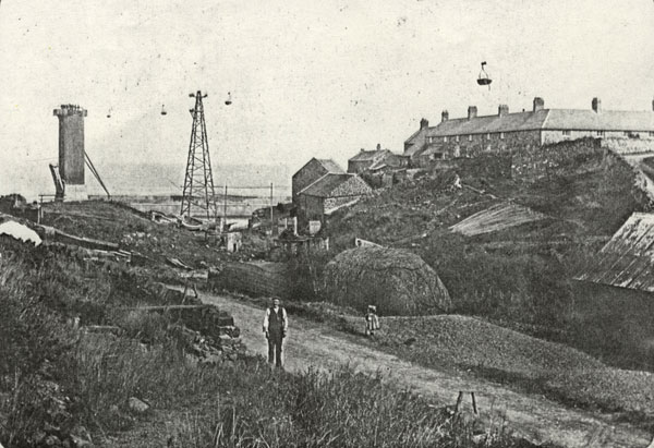 Clhg History Walks Quarry Aerial Ropeway And Bins